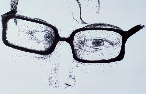 Glasses_Stippling