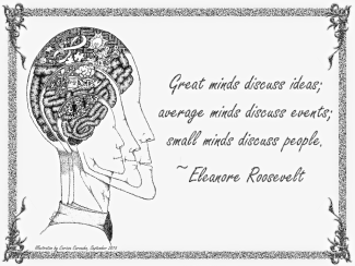 GreatMinds - EleanorRoosevelt