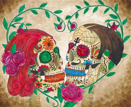 Sugar_Skull_Couple